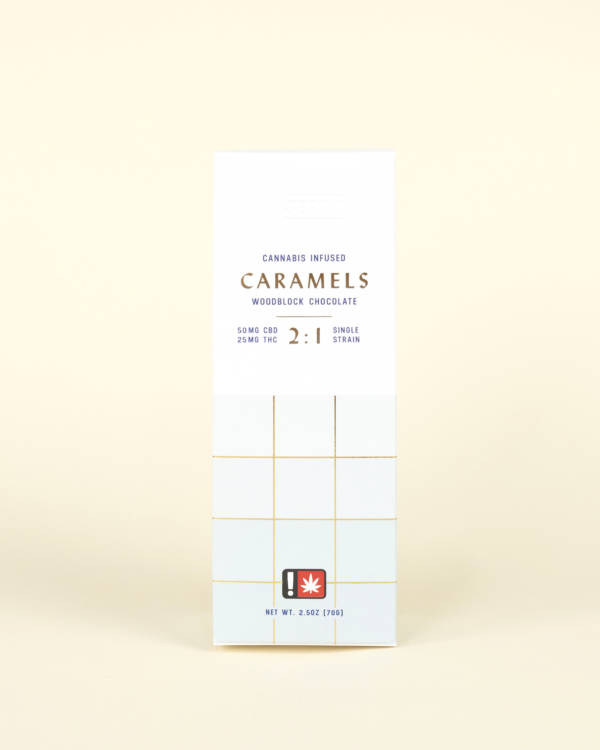Woodblock Chocolate Caramels